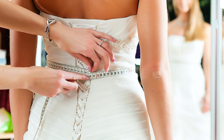 wymiarowanie sukienki